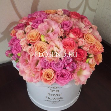 Цветы в коробке № 217